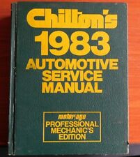 Chilton's 1976-1983 Automotive Service Manual - Dodge Ford GM Chevy Olds Pontiac
