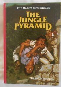 The Hardy Boys #9, The Jungle Pyramid by Franklin W Dixon hc 1979