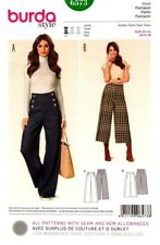 Burda Sewing Pattern 6573 Burda Style Pants Womens Size 6-18