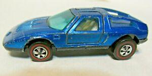 Hot Wheels Redline 1972 Mercedes Benz C111 Blue Mattel HW RL HK C-111
