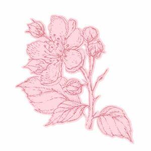 Pretty Penny - Apple Blossom A6 Stamp & Die Set