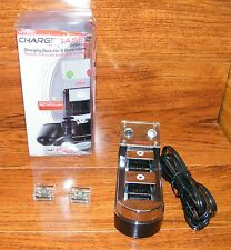 Nyko (83053-E14) Charge Base 2 Charging Dock For 2 PS3 Controllers w/ Adapters