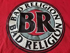 BAD RELIGION SIGNED HOCKEY TEE PUNK ROCK PROMO XL RARE HOCKEY PUNQ