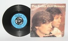 """Phil Everly & Cliff Richard - She Means Nothing To Me - 1983 Vinyl 7"""" Single"""