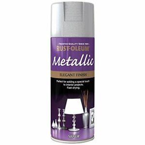 400ml Elegant Metallic Silver