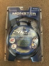 New listing Monster 202 Ln Audio Interconnect 1 Meter Cable