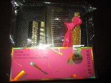 Sephora Do It Up Hair Kit-Tug Free Hair Ties,Gold Hair Pins,Gold Comb,Pouch New