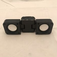 "8"" Mini Boom Box Speakers For Iphone 3.5mm Stereo Battery Powered"