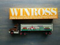 VTG 1989 WINROSS Tractor Trailer Hershey PA - A Friendly Experience - Mint