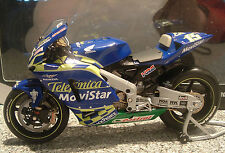 2004 Minichamps Sete Gibernau RC211V HONDA HRC MotoGP MOVISTAR 1,12 Ltd stock