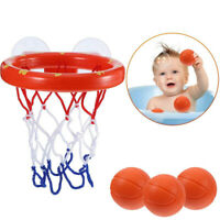 Baby Kids Bath Toys Basketball Hoop & Ball Bathtub Water Play Sets for Toddler T