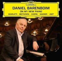 DANIEL BARENBOIM - ON MY NEW PIANO  CD NEW!  BEETHOVEN/CHOPIN/LISZT/WAGNER/+