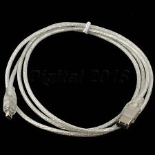 6P to 4P Firewire IEEE 1394 Digital i.Link Network Cables Adapter Cable 5FT