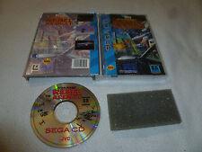 BOXED SEGA CD VIDEO GAME STAR WARS REBEL ASSAULT COMPLETE W CASE & MANUAL >>