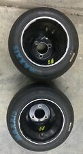 go kart racing black anidiozed wheels and blue maxxis tires