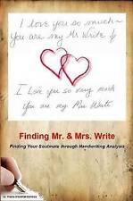 NEW Finding Mr & Mrs. Write by Ms. Treyce D'gabriel-Montoya