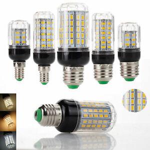 LED Corn Bulb E27 E14 E12 E26 B22 24-108LEDs Light Lamps 110V 220V DC 12V 24V RH