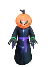 8 FOOT Halloween Inflatable Monster Pumpkin Head Garden Yard Decoration Balloon