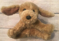 "GUND PUDDLES Puppy DOG 9"" NO COLLAR Golden Retriever Plush Stuffed Animal 5315"