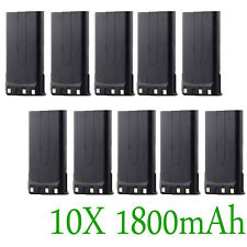 10pcs 1800mAh KNB-14A KNB-15A Battery for KENWOOD TK-260G TK-360G TK-2100 TK3100