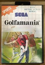 Golfamania (Sega Master System, 1990)