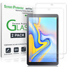 Samsung Galaxy Tab A 10.5 amFilm Tempered Glass Screen Protector (2 Pack)