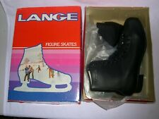 Gemini Mens Black Leather Ice Skates Us 12
