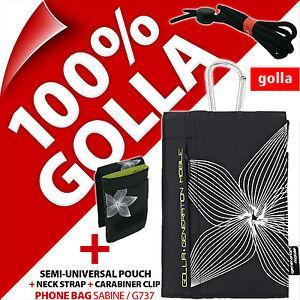 Golla Phone Case Bag Clip Neck Strap for Apple iPhone 4S 5 5S 5C, SE 1st Gen