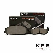 Premium Ceramic Disc Brake Pad FRONT + REAR NEW Set With Shims KFE1509 KFE1041