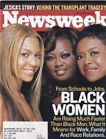 Newsweek Mag Beyonce Knowles Star Jones March 3, 2003 102219nonr