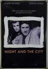 NIGHT AND THE CITY DS ROLLED ORIG 1SH MOVIE POSTER ROBERT DE NIRO NEO NOIR(1992)