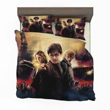 Harry Potter 3PCS Bedding Set Pillowcase Duvet Cover Comforter Cover Set US Size