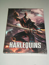 Warhammer 40K HARLEQUINS CODEX!!  Brand New HC!!
