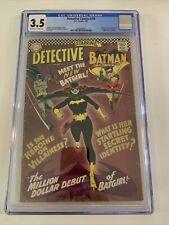 Detective Comics #359 - CGC 3.5 - First App of Batgirl
