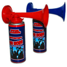 2 x Air Horn Gas Loud Compressor Hand Held Football Sport Event Team Support New