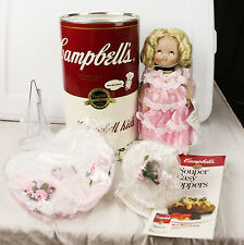 Vintage Campbell's Soup Kids Southern Belle CK-23 Porcelain Doll In Can COA 1994