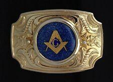 Mason Masonic Freemason Belt Buckle - #114