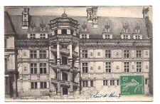 blois  le château  escalier françois 1er