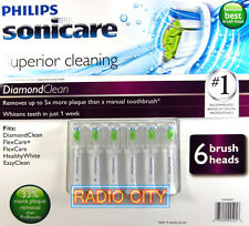 Philips Sonicare DiamondClean 6-pack Replacement Brush Heads HX6066/70 FlexCare