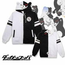 Danganronpa Monokuma Black White Bear Cosplay Unisex Jacket Hoodie Sweatshirt