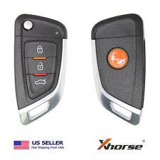 Xhorse VVDI Universal Wired Flip Remote Key 3 Buttons Knife Type XKKF02EN