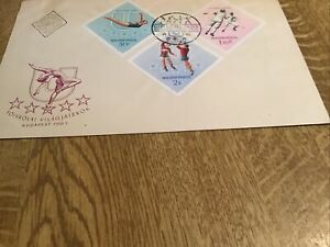 FIRST DAY COVER HUNGRY