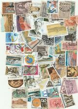 250 Pcs LOT OF USED GREEK DIFFERENT STAMPS... FREE SHIPPING FROM GREECE