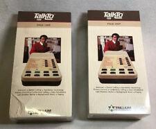 Lot Of 2 New Sealed Vintage Trillium TalkTo 109 Page Unit
