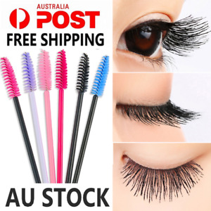 Disposable Mascara Wands Eyelash Brushes Applicator Lash Extension Brush10 color