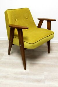 SALE armchair vtg 60's CHIEROWSKI 366 made in Poland design RENOVATED sessel
