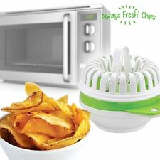 Always fresh chips mikrowellenutensil para chips patata ideal para fiestas New