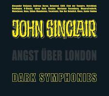 John Sinclair Dark Symphonies (Musik) + Angst über London 2 CD Ausgabe wie neu