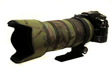 Sigma 50 500mm Non OS Neoprene lens protection & camouflage coat cover Woodland
