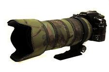 Sigma 50 500mm Lente No OS Neopreno Protección & Camuflaje Abrigo Cubierta Bosque